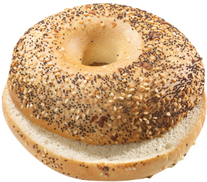 BAGEL EVERYTHING G.120X30PZ EDNA
